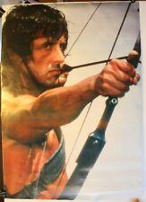 "Sylvester Stallone Rambo Archery 24 1/2 x 35"" Movie Poster"