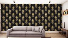 Clarke and Clarke Tobago Indigo luxury wallpaper. 10.05m x 53cms (11yds x 21ins)
