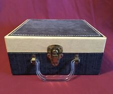 Vintage Eagle Lock Company Case Camera Equipment Crafts Storage Make-Up Display