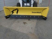 "New Snow Wolf Qp-114 Quattro Plow, 114"" Width, Ssl Quick Attach, Fit Many Models"