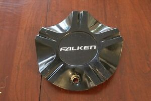 FALKEN MCD0615YL01 NEW BLACK WHEEL CENTER CAP