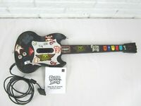 PS2 Guitar Hero Gibson Red Octane SG Wired Controller Guitar PSLGH Manual