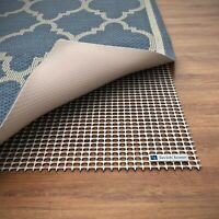 Area Rug Non Slip 8 x 10 Ft Underlay Non Skid Pad Rubber Rug Runner Trim to Fit