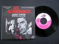 Vinyle 45T SP LES INTOUCHABLES (BO Film) JACKIE LYNTON ENNIO MORRICONE 1969