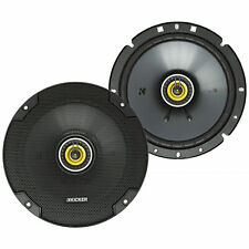 KICKER 46CSC674 CS Series 100 Watt 6.75 Inch Coaxial Car Audio Speakers (Pair)