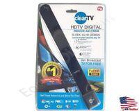 NEW Portable Indoor Digital TV HDTV Antenna 50 Miles Range 1080P 4K UHF/VHF