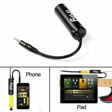 More details for top quality irig audio adaptor guitar bass converter interface for iphone ipad