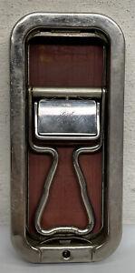Vintage Rolls Razor 1927 Blade Sharpening Leather Strop Sheffield Steel England