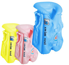Baby Swimming Vest Seat ,Infant Inflatable Aid Trainer (58cmx48cm)