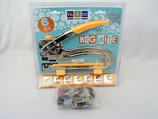 "NEW WE R MEMORY KEEPER CROP A DILE II BIG BITE 6"" REACH CRAFTING TOOL + GROMMETS"