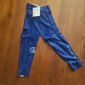 Maloja Pro Cycling Mens Small Leg Warmer Sleeve Blue Pushbikers Compression Race