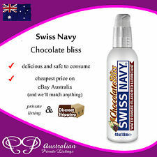 CHOCOLATE LUBE - rich choc flavour personal lubricant for the bedroom - Swiss