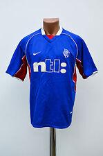 GLASGOW RANGERS SCOTLAND 2000/2001 HOME FOOTBALL SHIRT JERSEY NIKE