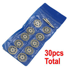 30 Diamond Cutting Wheels For Dremel Rotary Tool die grinder cutter cut off disc