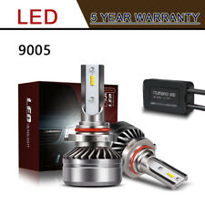 Pair 9005 LED Headlight Kit 12000LM 60W HB3 Hi/Lo Beam Bulb Fog Light 6000K LXK