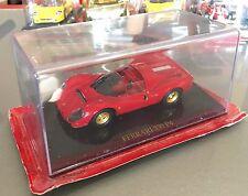 Ferrari 330 P4 con basetta e plexi da esposizione 1:43