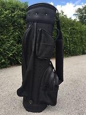 MCM Golfbag Golftasche schwarz - Original Vintage im top neuwertigen Zustand