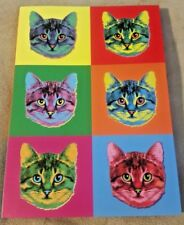 Cats Kittens Felines Colorful Notebook Bound Journal Blank Lined Pages
