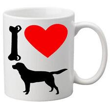 I Love Labrador Dogs on a Quality Mug. Great Novelty 11oz Mug.
