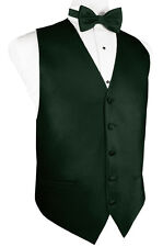 Palermo Tuxedo Vest  with Bow Tie and Long Tie - Wide Variety of Colors