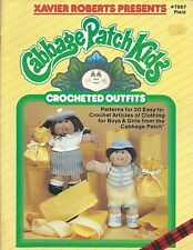 Cabbage Patch Kids CROCHETED OUTFITS Xavier Roberts Crochet Pattern Book NEW OOP