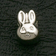 Bunny Rabbit Stainless Steel Loose Bead Fits European Charm Bracelet Gifts New
