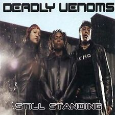 Still Standing  by The Deadly Venoms  Rap 16 Tracks Brand New And Factory Sealed
