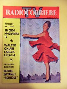 RADIOCORRIERE TV N°50-1961.WALTER CHIARI-PANARO ALESSANDRA