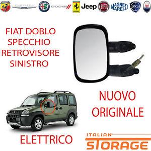 Fiat Doblo Spiegel Links Elektrisch Thermisch Neu Original 735325159