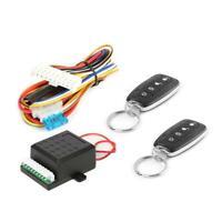 Car Auto Remote Central Door Lock Kit Keyless Entry Alarm System Universal
