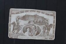 D7578 GERMAN EMPIRE 1913 postcard wedding of duke of Braunschweig SEE DESC.