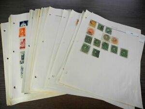 MEXICO,  Excellent Stamp Collection hinged on pages