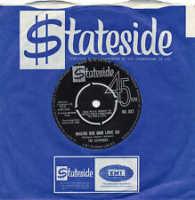 THE SUPREMES where did our love go*he means the world to me 1964 UK STATESIDE 45
