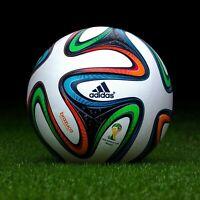 ADIDAS BRAZUCA FIFA WORLD CUP 2014 BRAZIL SOCCER MATCH BALL SZ 5 - FREE SHIPPING
