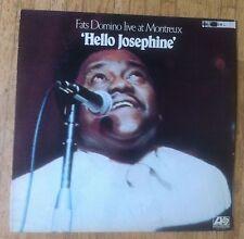 FATS DOMINO Hello Josephine - Fats Domino Live At Montreux LP