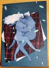 Dobra Lystivka Art Postcard - Moonlight by Anna Rudak