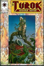 Turok 1 Lot Of 5 Unread Valiant 9.6-8 Chromium Embossed Dinosaur Hunter Nm+ 1993