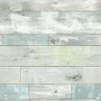 Brewster NU1647 Beachwood Blue Peel & Stick Wallpaper Free Shipping
