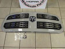DODGE RAM 1500 Sport Grill Assembly Unpainted With Chrome Ram Emblem OEM MOPAR