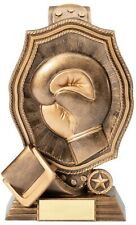 """Boxing Heavy Resin Boxing Belt Trophy Award 10 1/2"""" Tall Free Engrave M-Rf1304"""