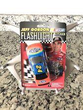 New Sealed Vtg 1999 Jeff Gordon Flashlight Keychain #24 Collectable