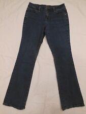 Jag Jeans Womens Petite Mid-Rise Stretch Boot Cut medium Blue size 8P