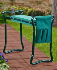 Heavy Duty Durable Fold-able Garden Kneeler Seat with Cary Pouch