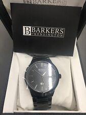 Barkers of Kensington Entourage Steel designer watch 5 year warranty