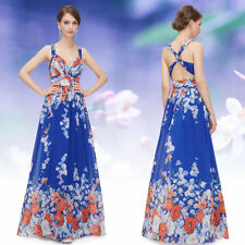 Polyester Ball Gown Hand-wash Only Floral Dresses for Women