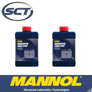 Mannol - Radiator Leak Stop - Sealer Sealant Stop Leak - 325ml x2