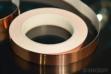 Kupferband 30m 20mm Breit selbstklebend Band aus Kupfer für Gitarren, Modellbau