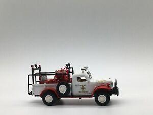 Matchbox Yesteryear Fire - YYM37636- 1946 DODGE POWER WAGON BRUSH/FIELD TRUCK