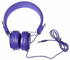 Vivitar Dj Mixers Foldable Blue Headphones Compact and Limited Edition  #357100