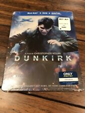 Dunkirk (Blu-ray/DVD/Digital) Steelbook: Brand New: Ships Worldwide!